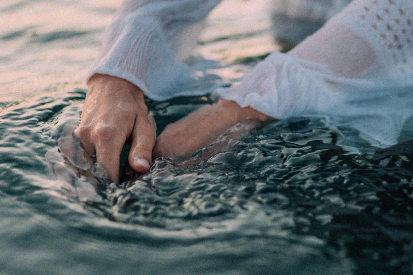 Fotoshootings mit Fara und Isabel am Meer