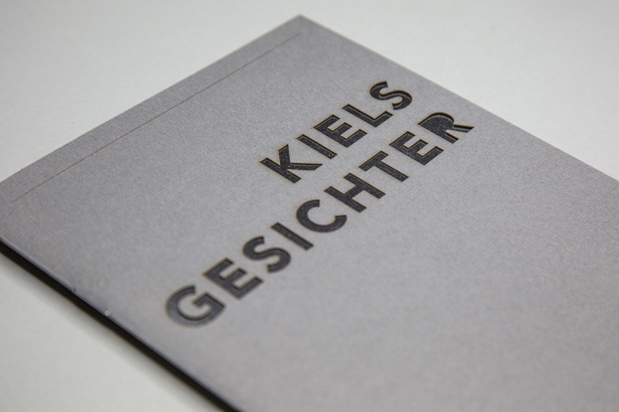 Cover Kiels Gesichter